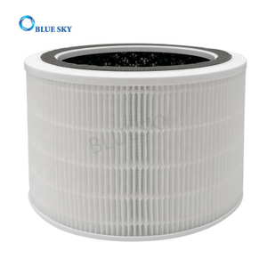 Active Carbon Particle Cartridge HEPA Filter Replacements for Levoit 200S-RF Air Purifiers