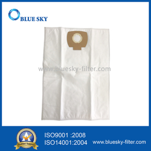 White Non-Woven Dust Bag for Makita P-72899 Vacuum Cleaner