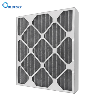 Custom Merv 8 Pleated Carbon AC Furnace HVAC Air Filters