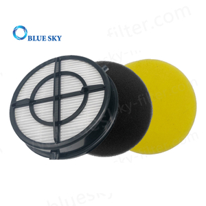 HEPA Filter and Foam Filter for Bissell 16871 1650 Vacuum Cleaners Part # 1608860 1608861