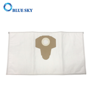 White Non-Woven Dust Filter Bag for Parkside Wet Dry Vacuum Cleaner