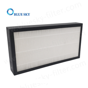 Customized Replacement China Supplier Pleated Air Purifier H13 H14 Panel HEPA Filters