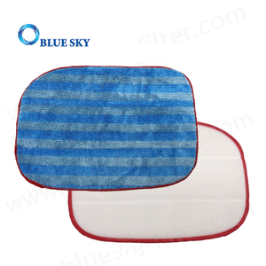 Custom Microfiber Steam Vacuum Cleaner Replacement Parts Mop Pads