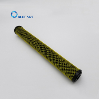 20 Inch 5 Micron 10micron 50 Micron PP Carbon Block CTO Water Filter Cartridge