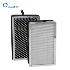 Panel Activated Carbon H13 True HEPA Filters for Medify MA-15 Air Purifiers