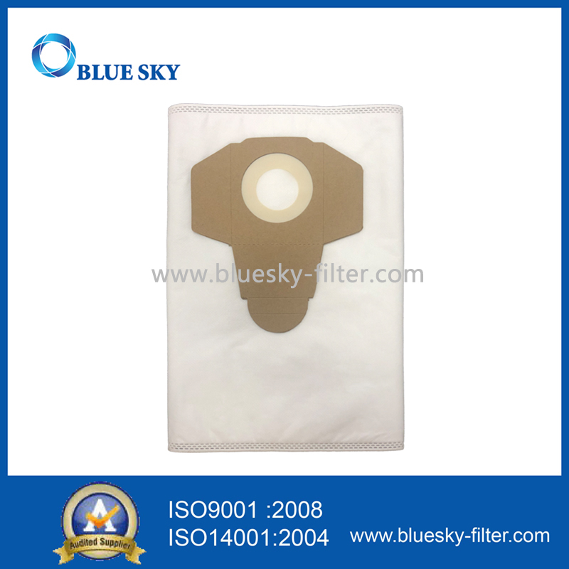 White Non-Woven Dust Filter Bag for Parkside Pnts 1300 B2 1300b2 Ian 69502 Lidl Vacuum Cleaner