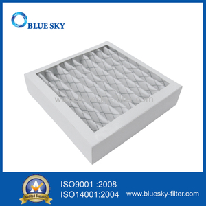 Customized 7.8x7.8x1.8Inch MERV 6 Cardboard Pleated Furnace Air Filter