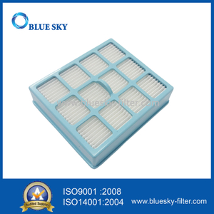 Blue Square HEPA Filter Cartridge for Philips FC8142 FC8140 Vacuum Cleaner