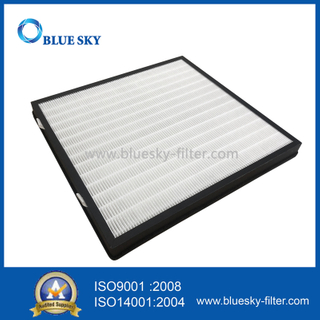 Customized 418x400x40mm Pleated Panel HEPA Air Purifier Filters