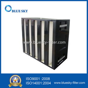 610X610X292mm H14 HEPA Air Filters for Rigid Box HVAC