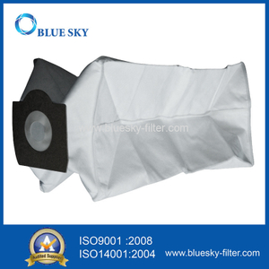 White Non-Woven Cube HEPA Central Dust Filter Bags for Vacuum Cleaner