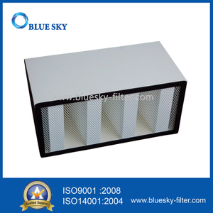 585X277X292mm V-Bank H14 HVAC HEPA Filters