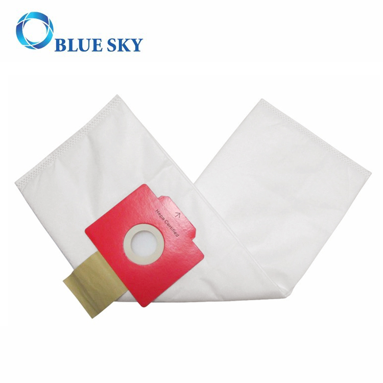 Red Collar Non-Woven HEPA Filter Bag for Vacuum Cleaner