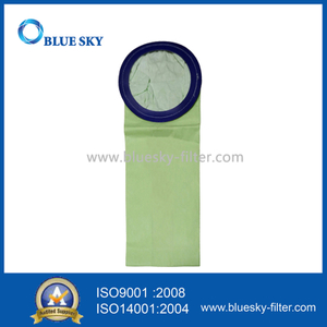Green Paper Dust Bag for Electrostatic Liner Vacuum Cleaners