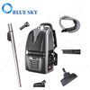 Wholesale 4 Dust Tank Capacity Big Power Cordless Bagless HEPA Filter Jb62 Backpack Vacuum Cleaner with Blow Function