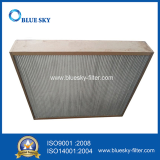 920X770X150mm Wooden Frame HVAC H13 HEPA Air Filters