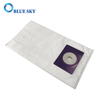Wholesale Custom White Non-woven Dust HEPA Filter Bag for Vacuum Cleaner
